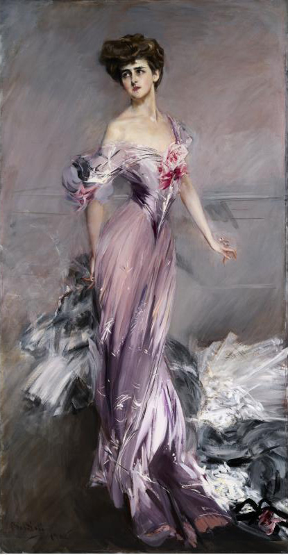 Fashion Image Friday Giovanni Boldini, Portrait of Mrs Howard Johnston,1906