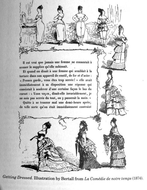 Illustration aus dem Buch von valery Steele