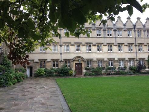 Jesus College in Oxford, wo die Korsett-Konferenz stattfindet.