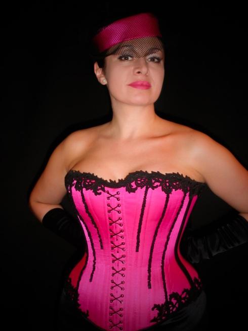 Korsett Roxane, massanfertigung für Antonietta, Atelier entre nous 2005