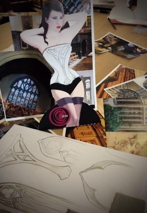 Corsett-Design workshop wit Alison Campbell
