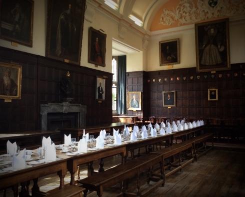 Jesus College in Oxford - Ort der Korsett-Konferen