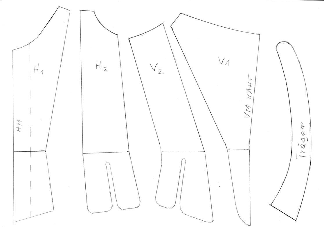 3 Schnittmuster für Barockkorsett im Verkauf | L`ecole du corset ...