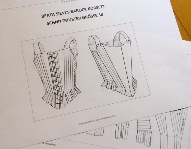 Korsett-Schnittmuster-Verkauf | L`ecole du corset entre nous