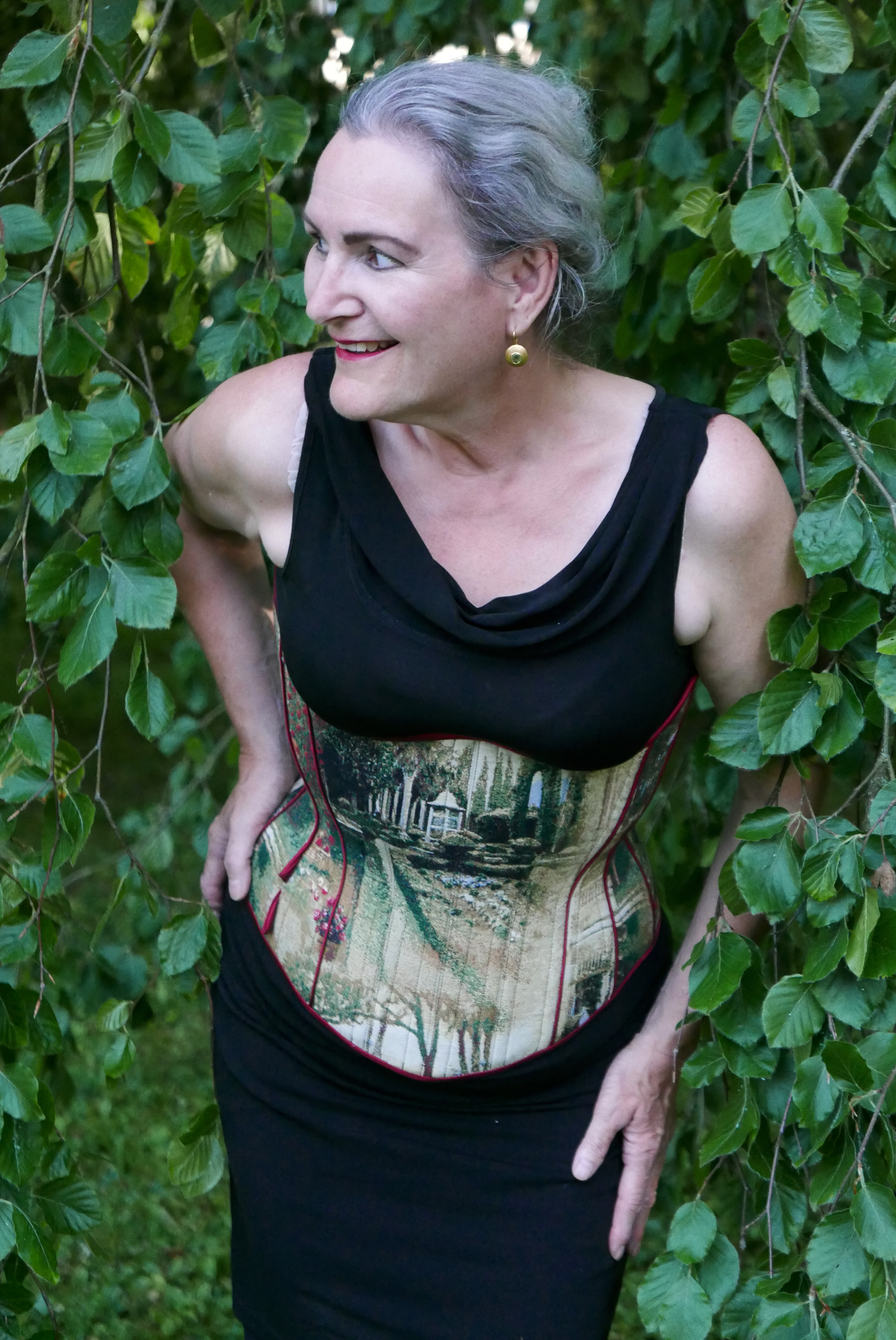 "Korsett-Massanfertigung - Kreation ""Tränen des Eros"" von Beata Sievi Corset Artist -"