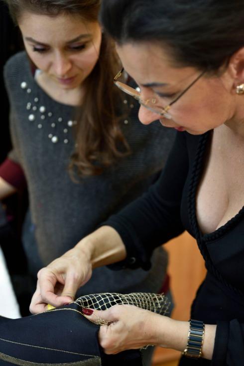 Korsett-Dekorationstechnik - Kurs von Beata Sievi Korset Artist